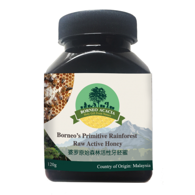Borneo Acacia Active Honey-120g