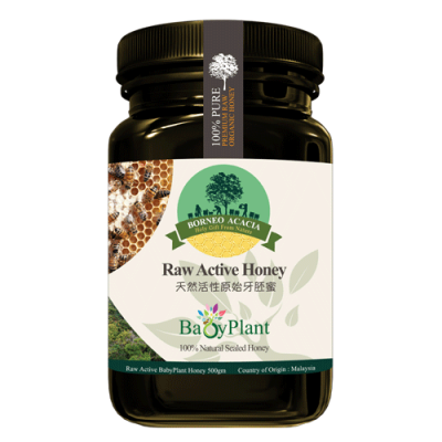 Borneo Raw Active Honey
